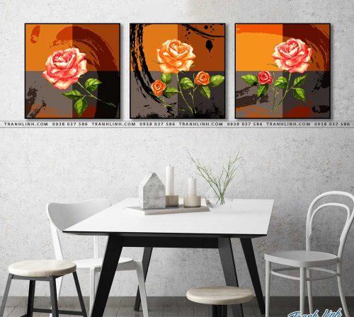 tranh canvas hoa 1464