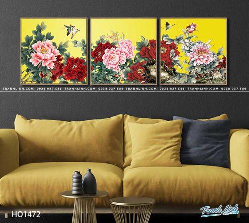 tranh canvas hoa 1472