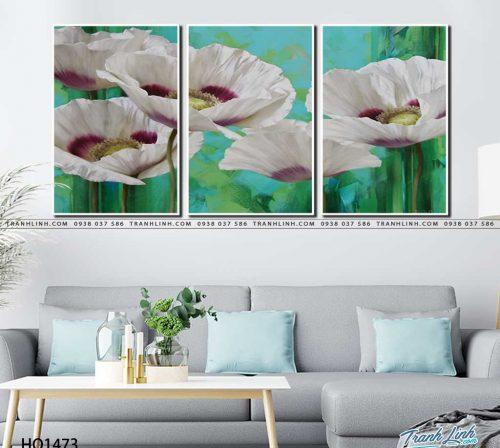 tranh canvas hoa 1473