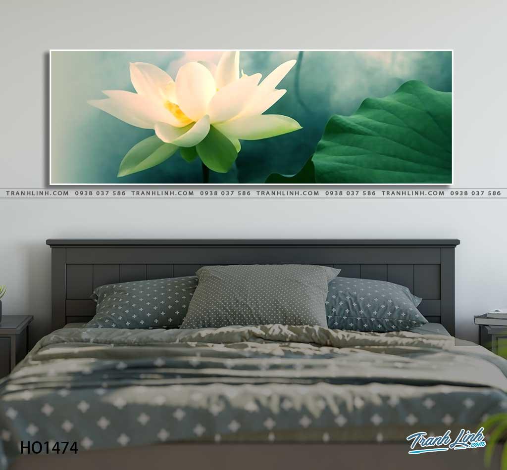 tranh canvas hoa 1474