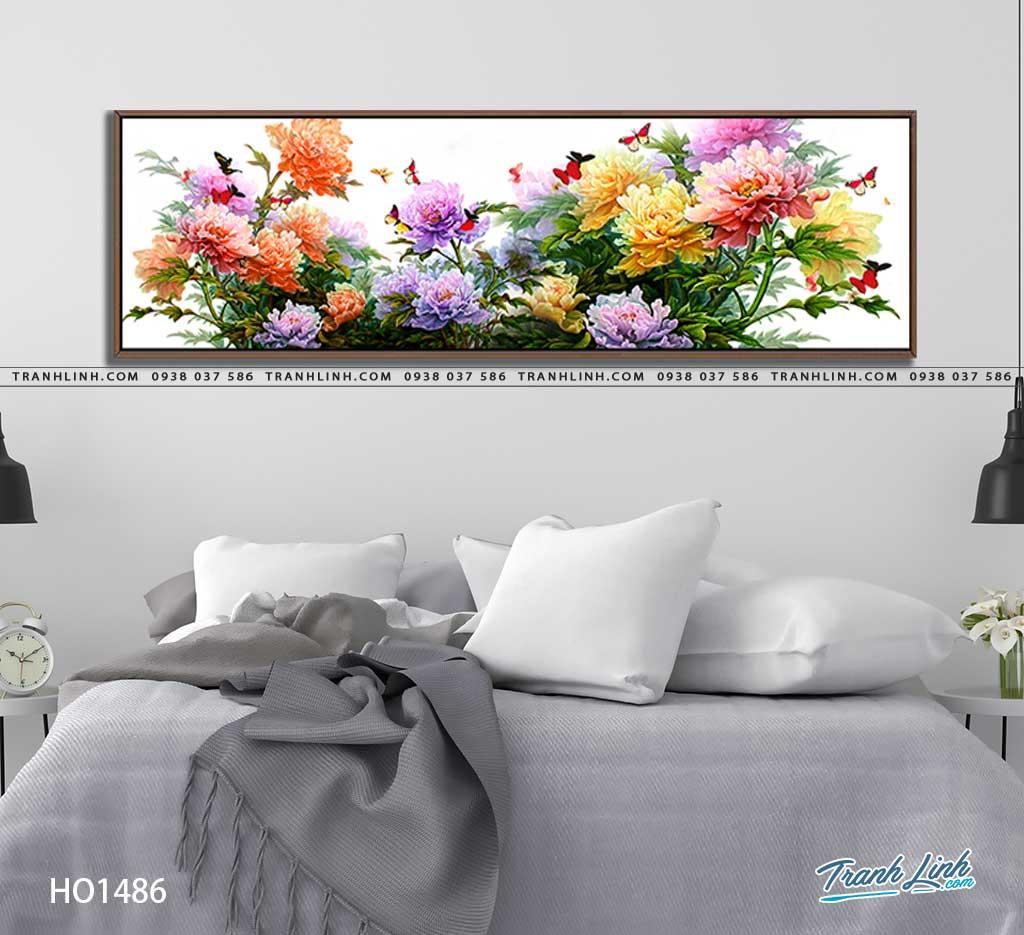 tranh canvas hoa 1486