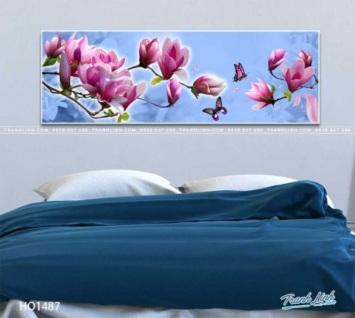 tranh canvas hoa 1487