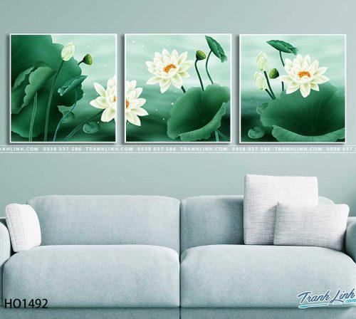 tranh canvas hoa 1492
