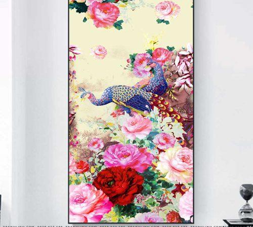 tranh canvas hoa 1493