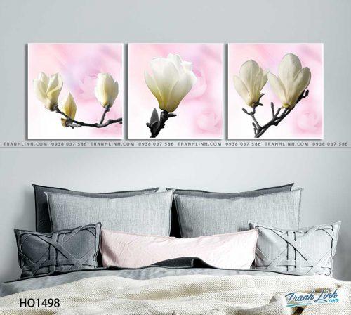 tranh canvas hoa 1498
