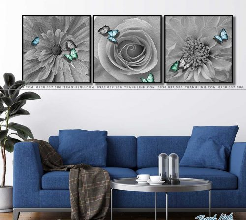 tranh canvas hoa 1502