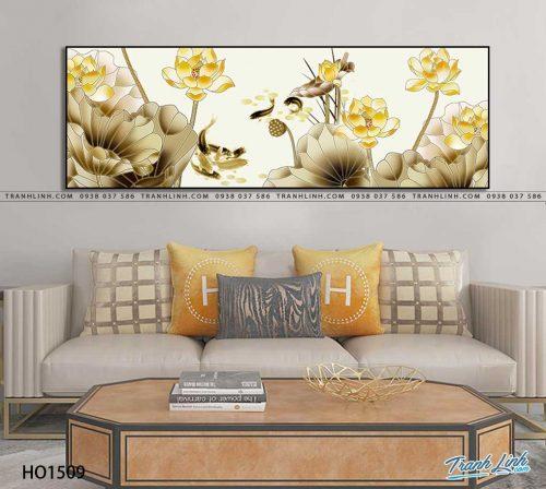 tranh canvas hoa 1509
