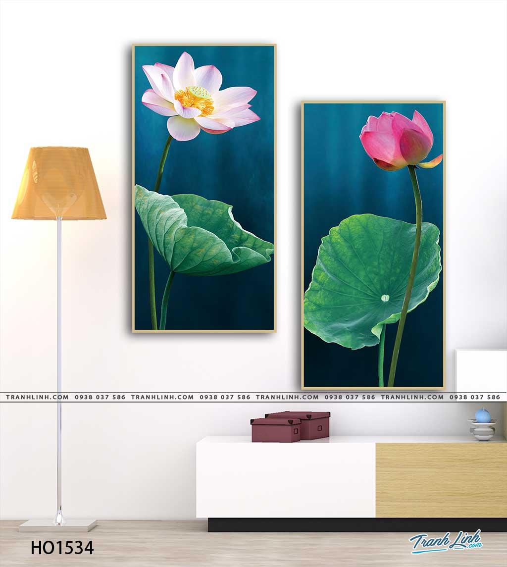 tranh canvas hoa 1534