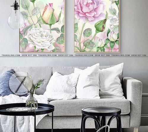 tranh canvas hoa 1569