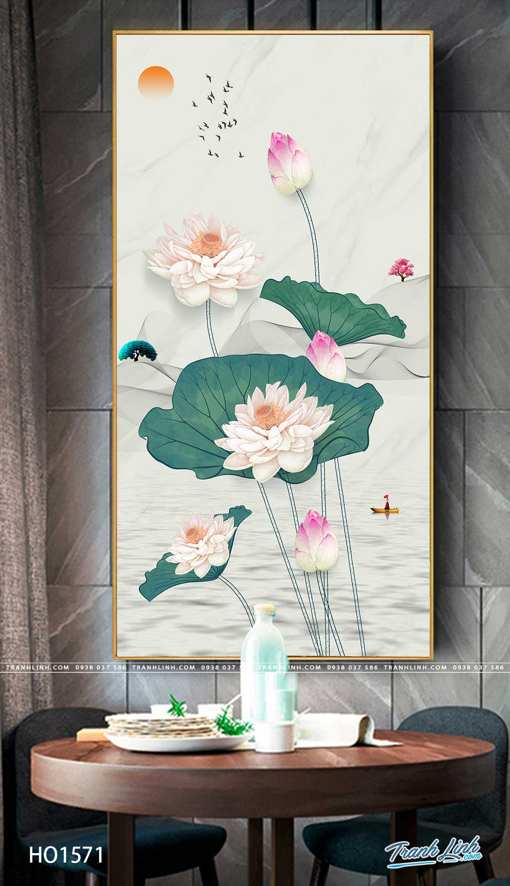 tranh canvas hoa 1571