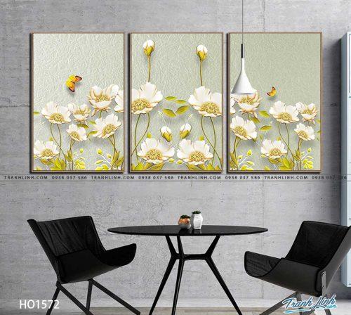 tranh canvas hoa 1572