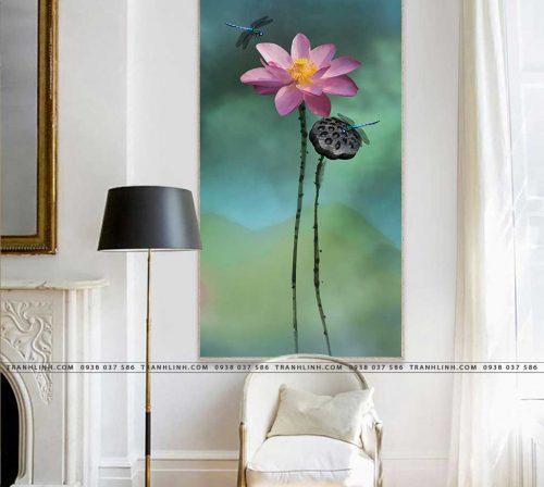 tranh canvas hoa 1578