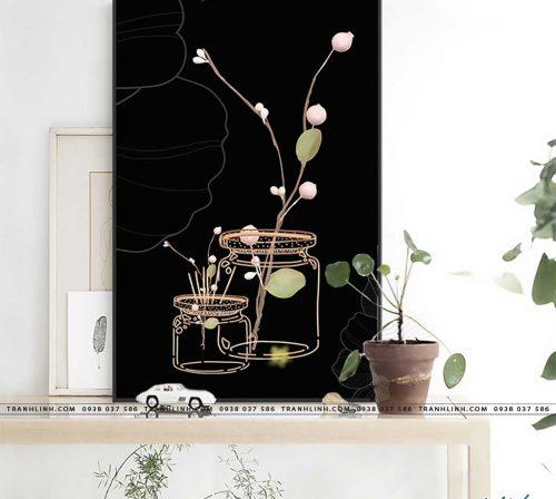 tranh canvas hoa 1582