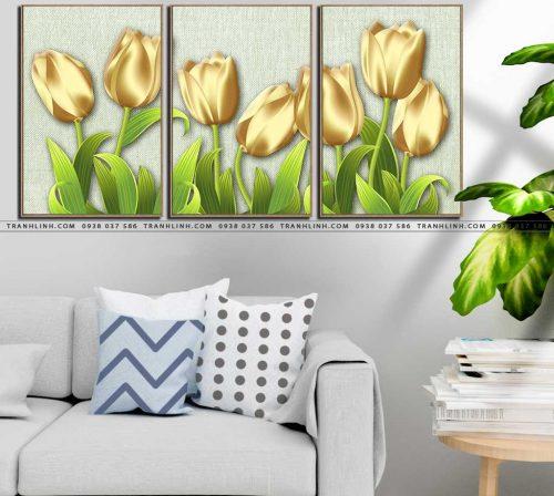 tranh canvas hoa 1594