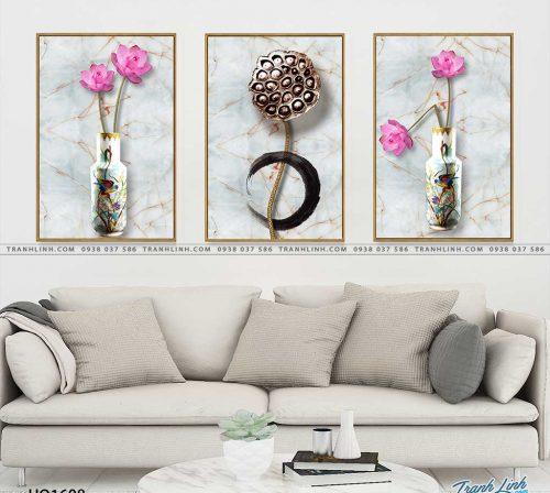 tranh canvas hoa 1608