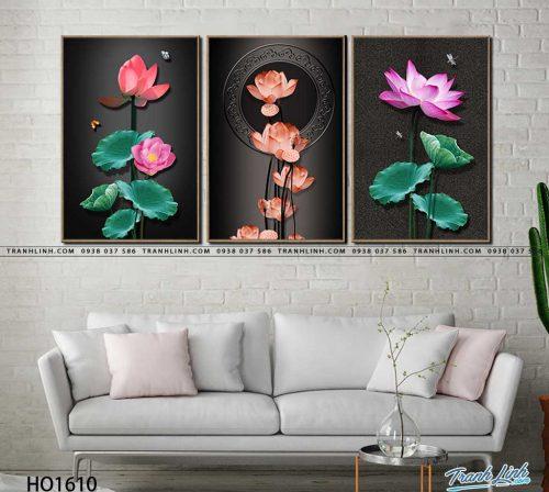tranh canvas hoa 1610