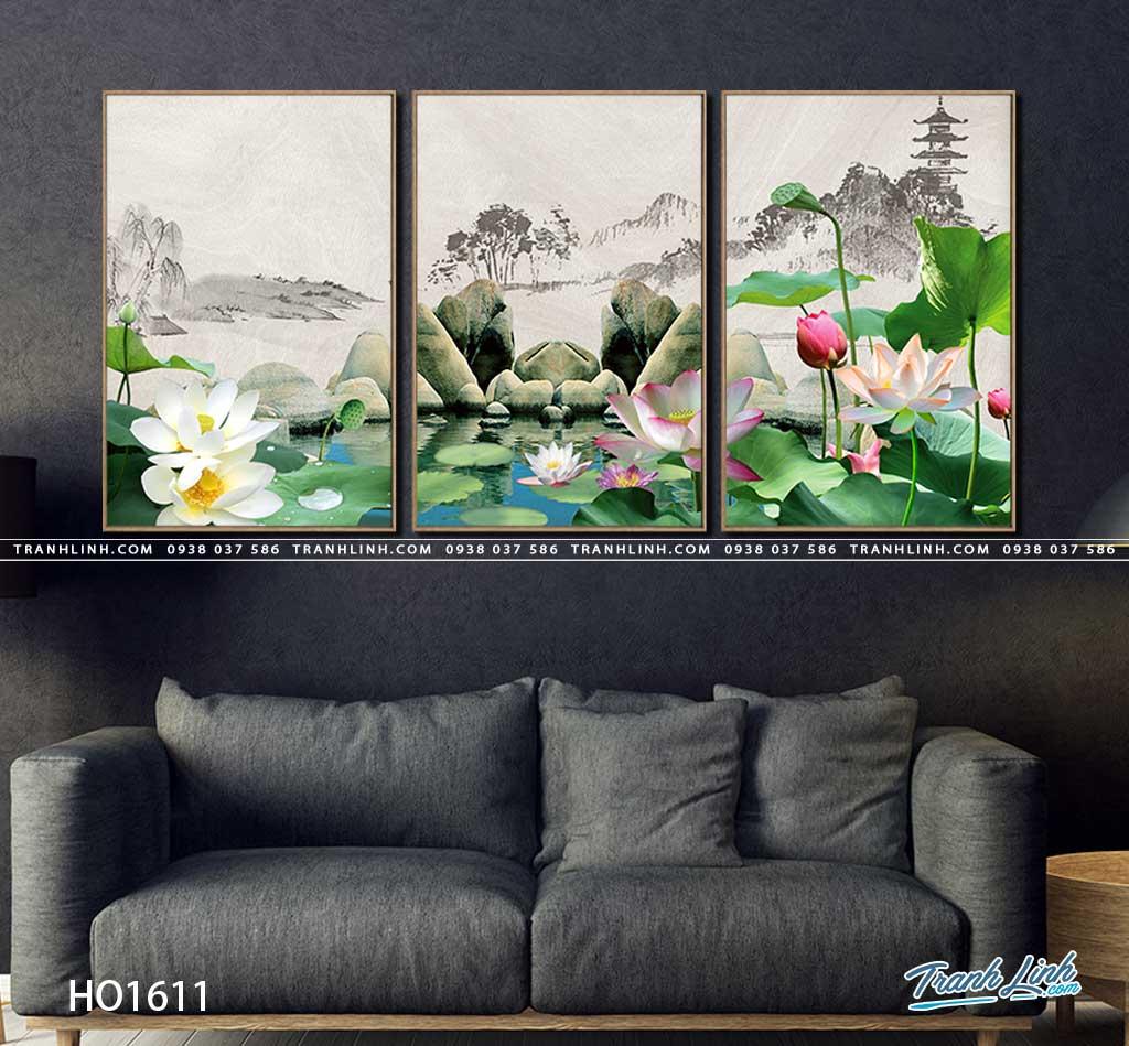 tranh canvas hoa 1611