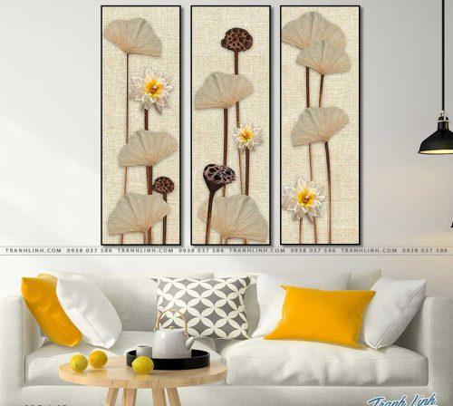 tranh canvas hoa 1634