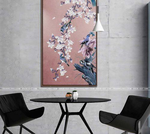 tranh canvas hoa 1641