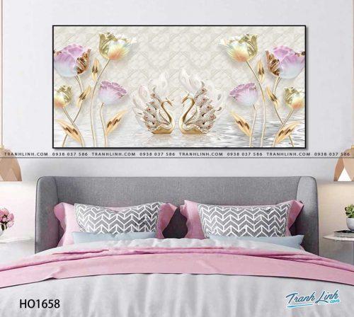 tranh canvas hoa 1658