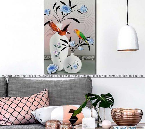 tranh canvas hoa 1675