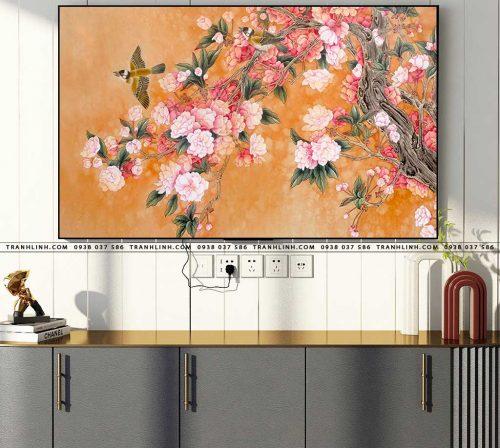 tranh canvas hoa 1676