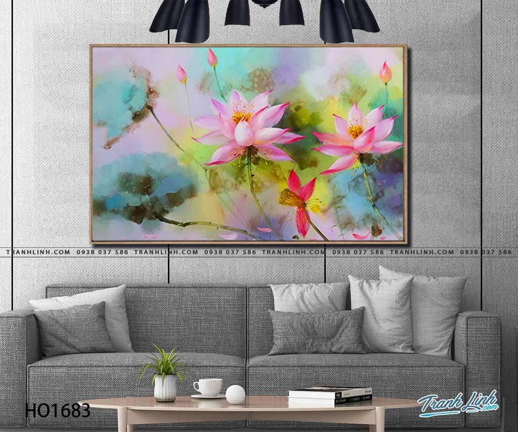 tranh canvas hoa 1683