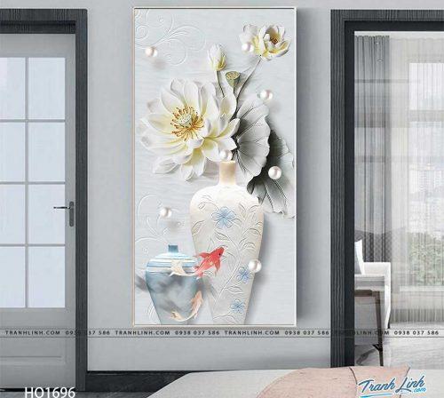 tranh canvas hoa 1696