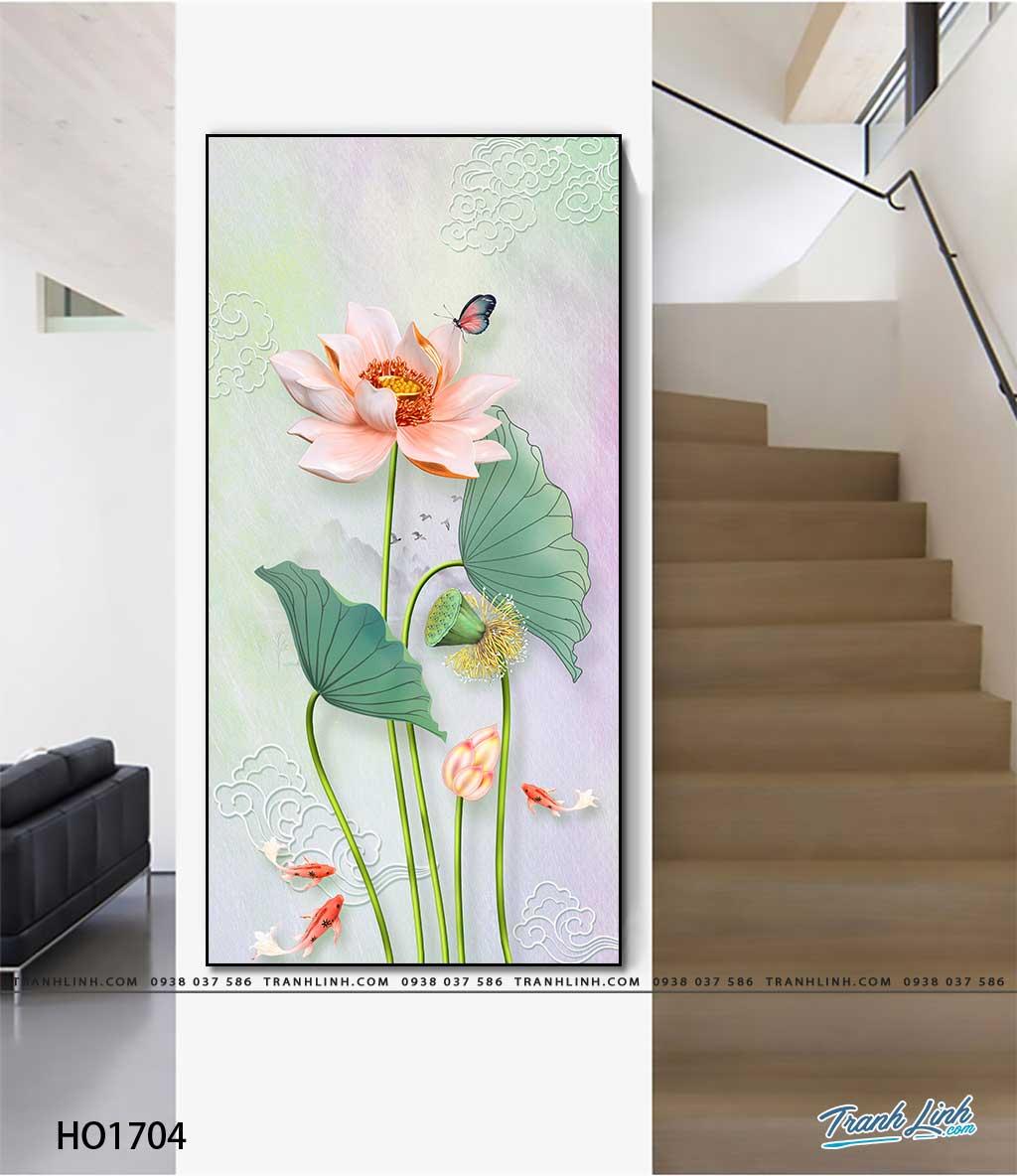 tranh canvas hoa 1704