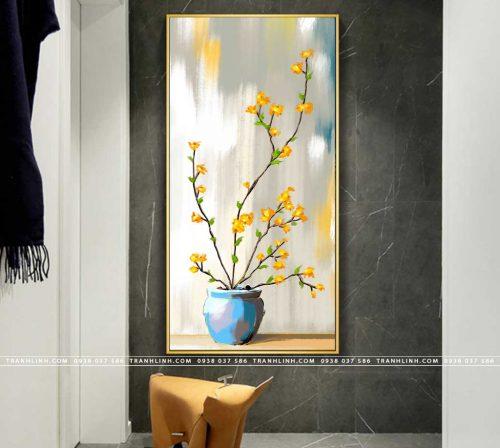 tranh canvas hoa 1710