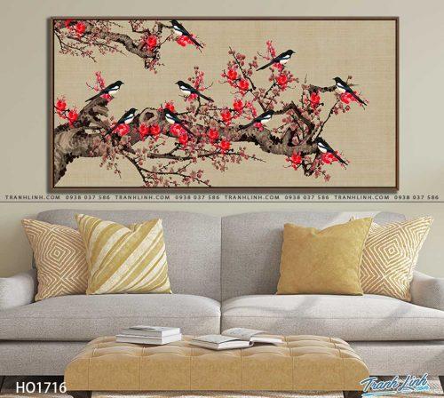 tranh canvas hoa 1716