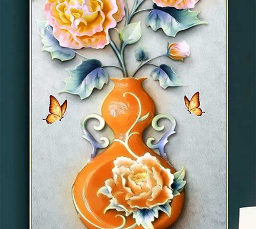 tranh canvas hoa 1720