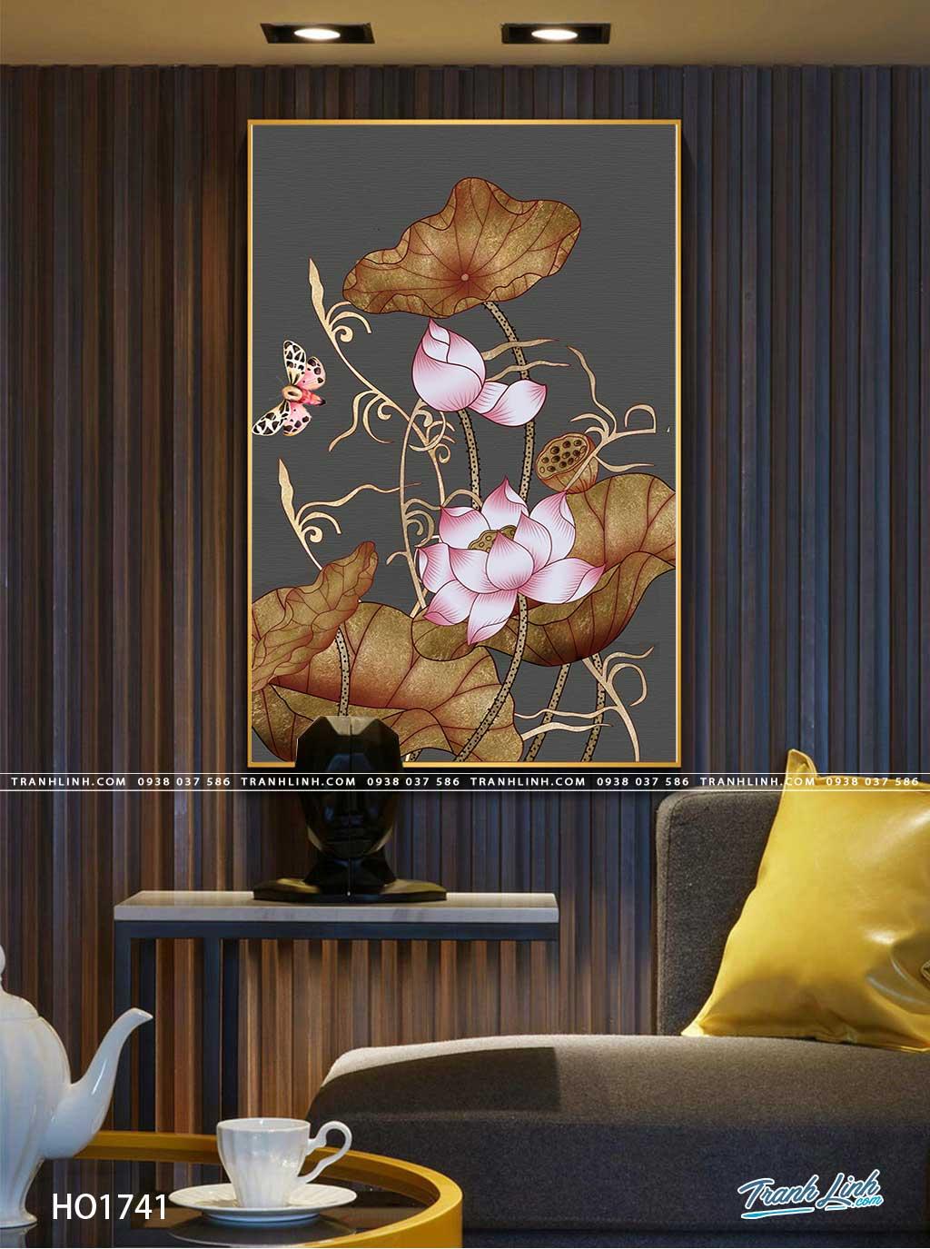 tranh canvas hoa 1741