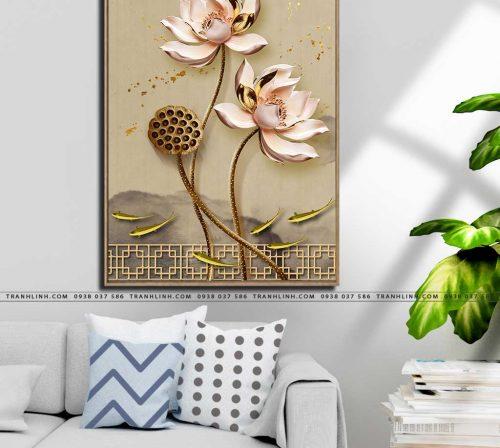 tranh canvas hoa 1758