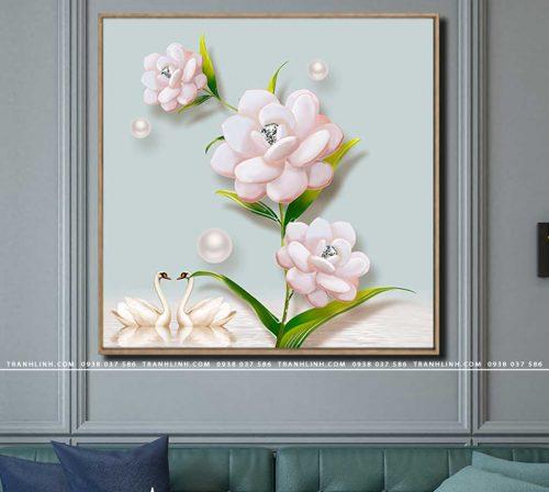 tranh canvas hoa 1763