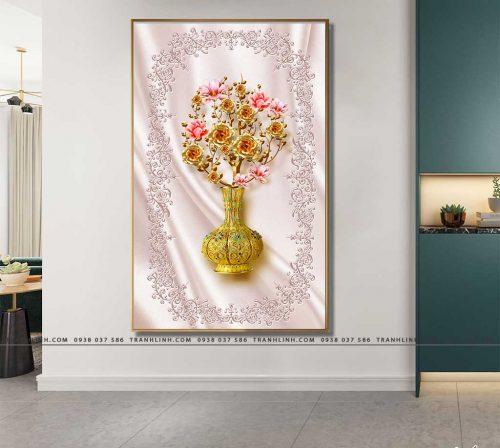 tranh canvas hoa 1766