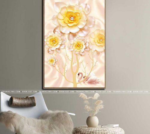 tranh canvas hoa 1789