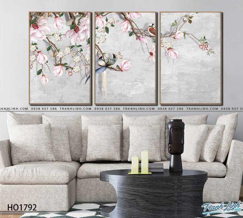 tranh canvas hoa 1792