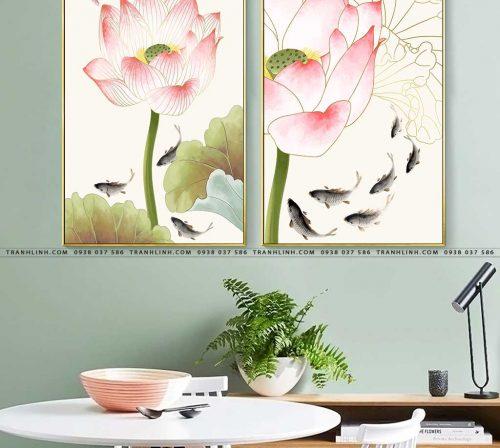 tranh canvas hoa 1808