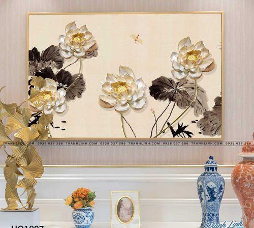 tranh canvas hoa 1907