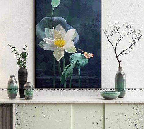 tranh canvas hoa 1929