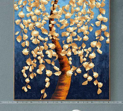 tranh canvas hoa 1981