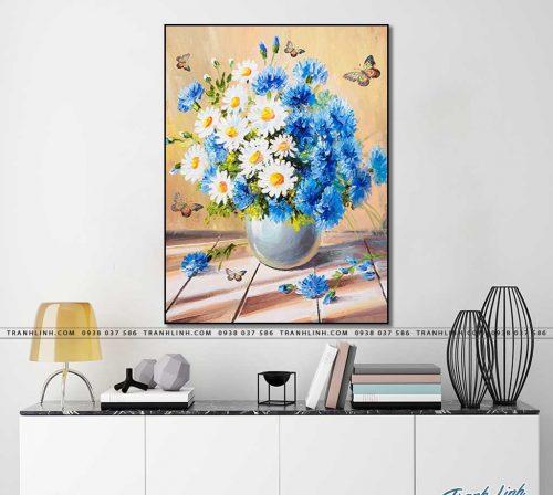 tranh canvas hoa 2022