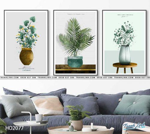 tranh canvas hoa 2077