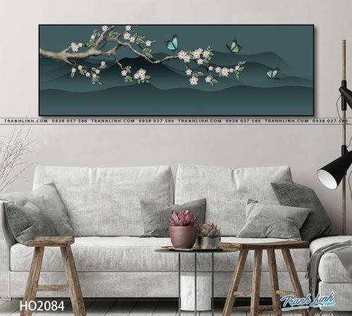tranh canvas hoa 2084
