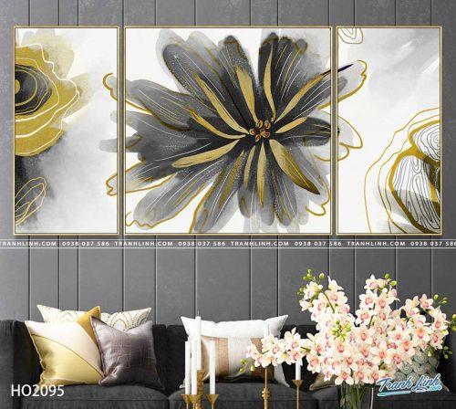 tranh canvas hoa 2095