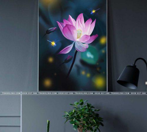 tranh canvas hoa 2101