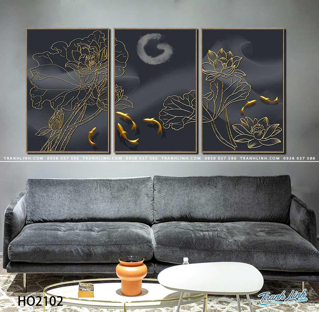 tranh canvas hoa 2102