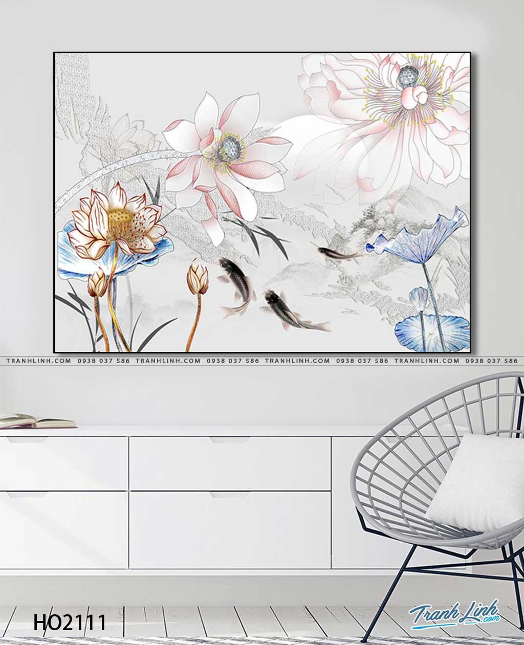 tranh canvas hoa 2111