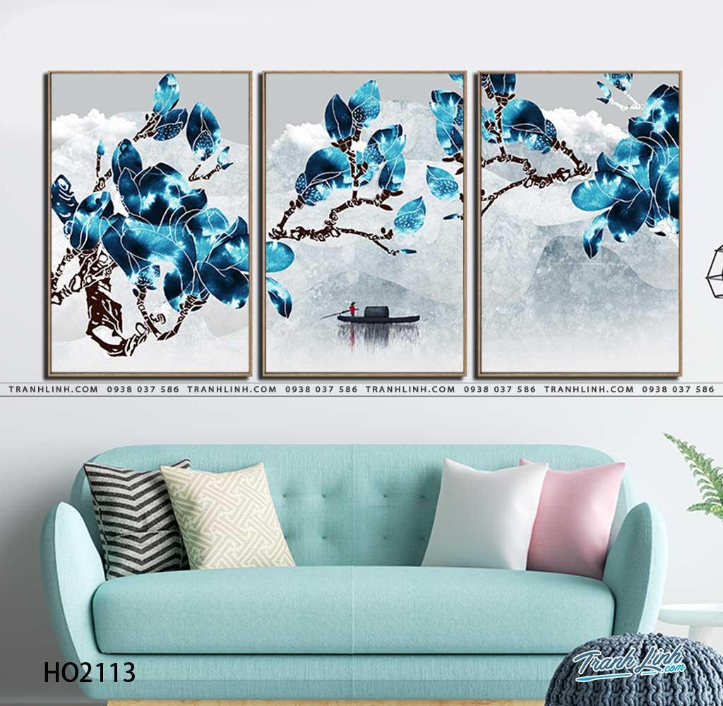 tranh canvas hoa 2113